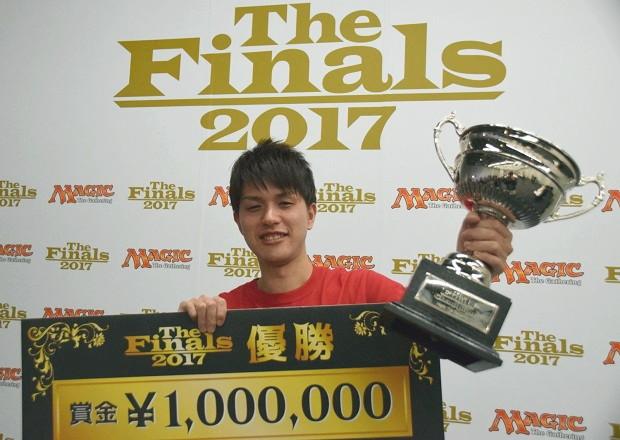 The Finals 2017 優勝 津村 健志選手(東京)