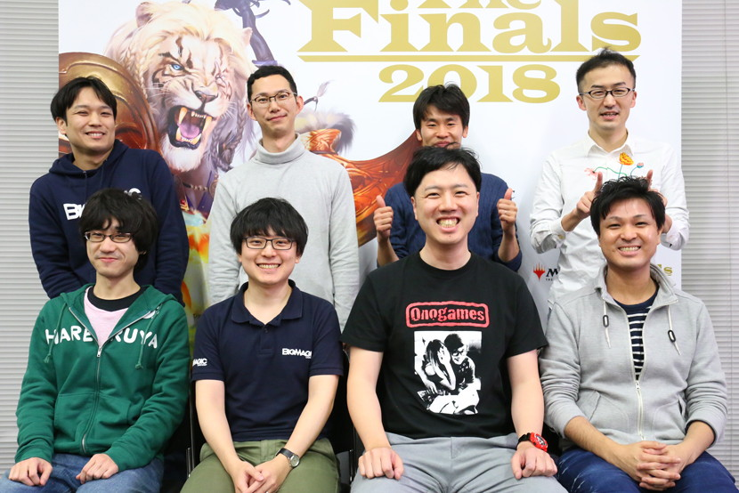 The Finals 2018 トップ8入賞プレイヤー