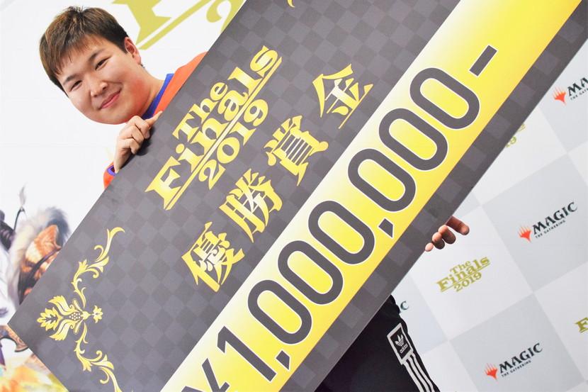 The Finals 2019 優勝 佐藤 直輝 選手 (神奈川)