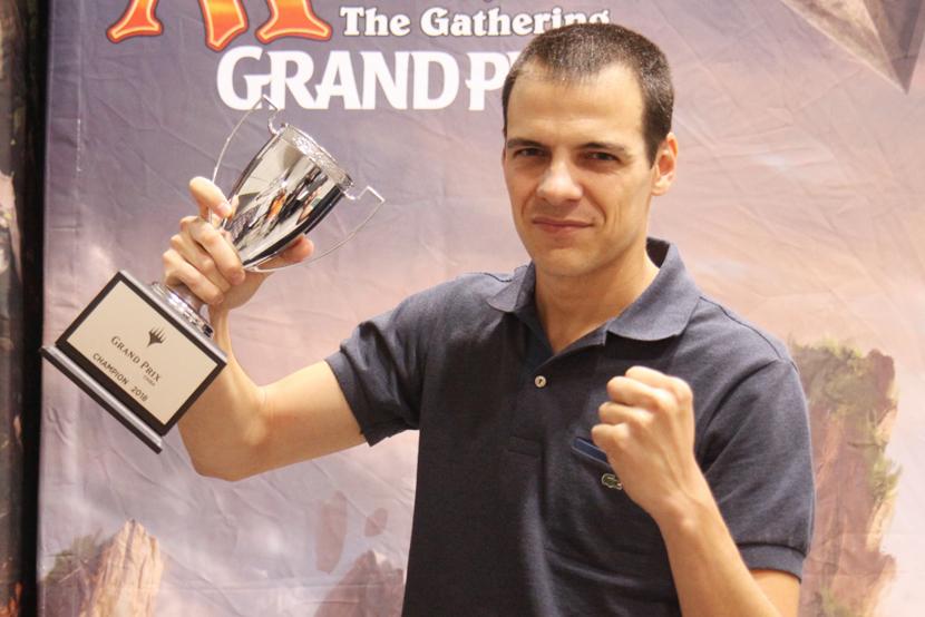 グランプリ・千葉2018 優勝 Guillem Salvador Arnal 選手 (スペイン)