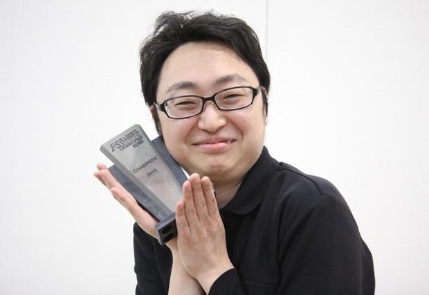 グランプリ・神戸2015優勝 諸藤 拓馬選手(福岡)