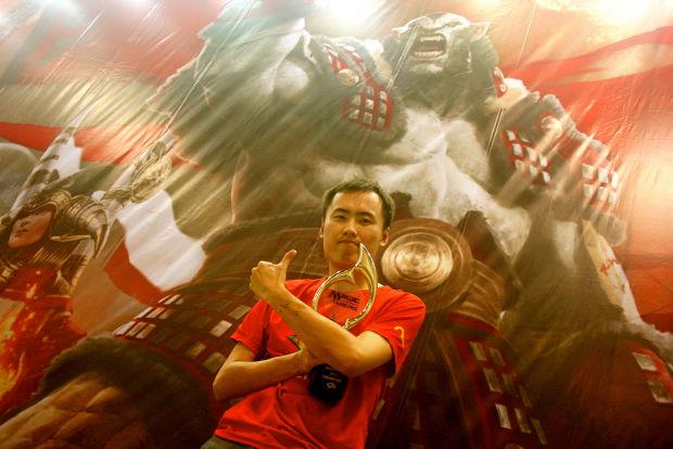グランプリ・上海2014優勝 Yu Yin選手(中国)
