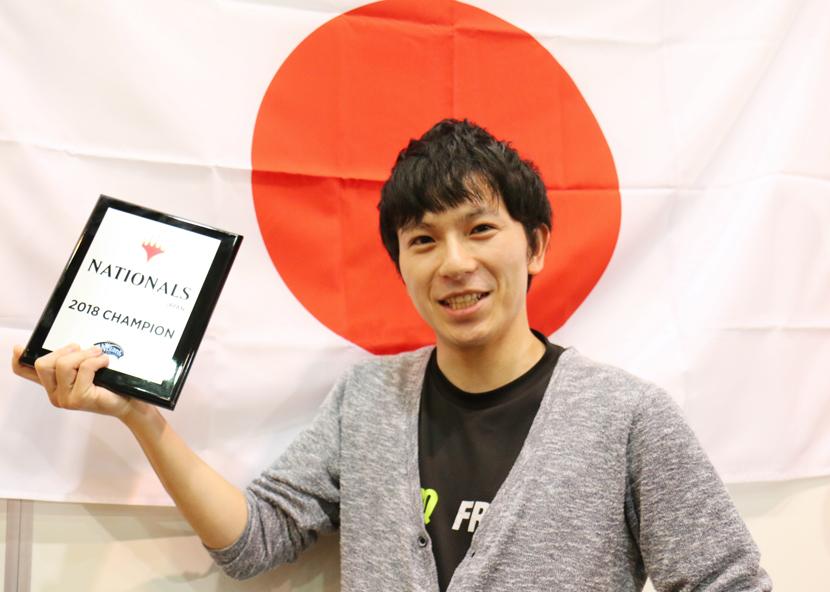 日本選手権2018 優勝 森山 真秀選手