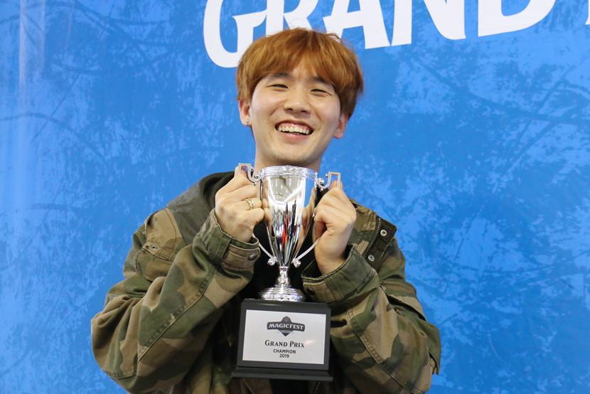 グランプリ・京都2019 優勝 ベ・デギョン選手(韓国)