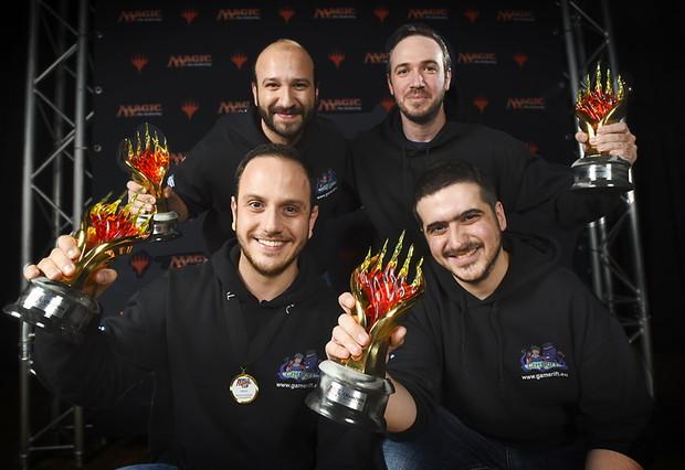ワールド・マジック・カップ2016 優勝 ギリシャ代表チーム