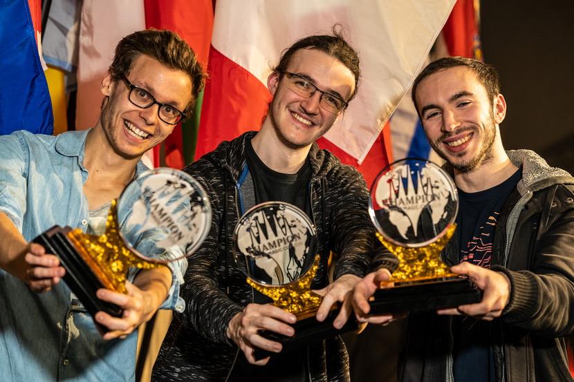 ワールド・マジック・カップ2018 優勝 フランス代表チーム