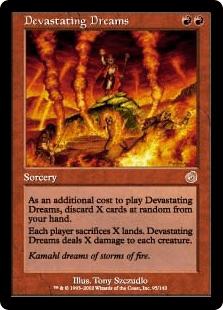 『トーメント』のカード