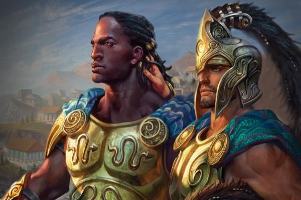 メレティスのキナイオスとティロ
