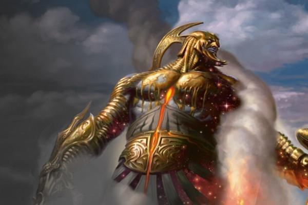 鍛冶の神、パーフォロス