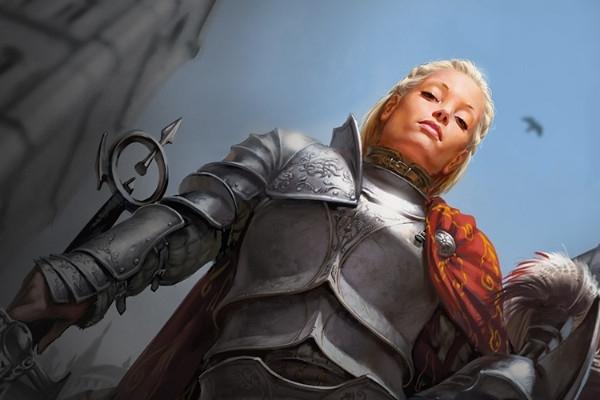護衛隊長、アドリアナ