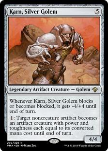銀のゴーレム、カーン/Karn, Silver Golem